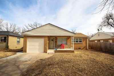 Wichita Single Family Home For Sale: 1732 S Drollinger Rd