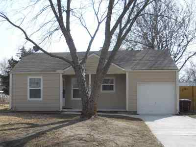 Wichita Single Family Home For Sale: 1507 W 17th St N