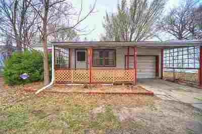 Wichita KS Single Family Home For Sale: $62,500