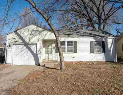 Wichita KS Single Family Home For Sale: $53,000