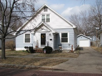 Winfield KS Single Family Home For Sale: $82,000