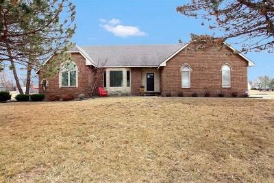 Derby Single Family Home For Sale: 11909 E Fireside