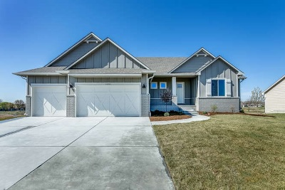 Wichita Single Family Home Contingent: 14703 W Moscelyn
