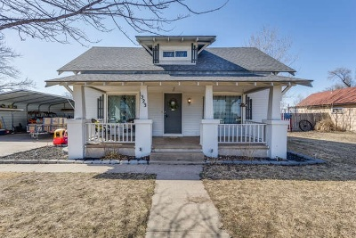 Pretty Prairie Single Family Home For Sale: 323 N Rhodes