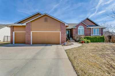 Wichita Single Family Home For Sale: 8122 E Old Mill Ct