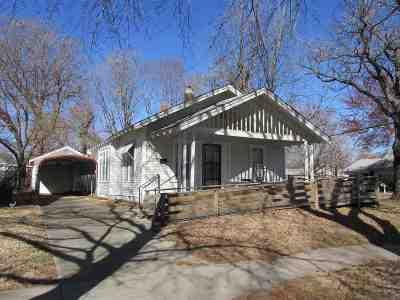 Arkansas City KS Single Family Home For Sale: $39,500