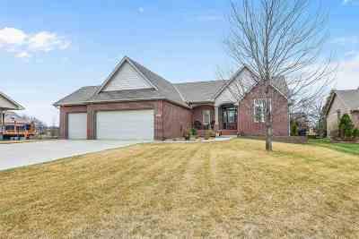 Wichita Single Family Home For Sale: 3921 N Lakecrest Cir