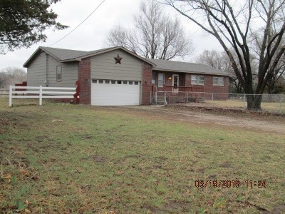 Mulvane Single Family Home For Sale: 11030 Anthony Ln