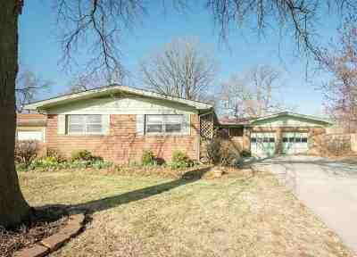 Derby Single Family Home For Sale: 615 S Woodlawn