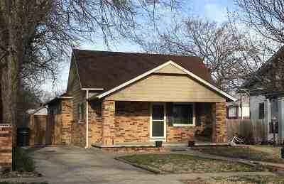Arkansas City KS Single Family Home For Sale: $89,900