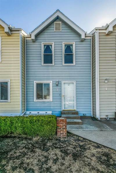 Wichita Condo/Townhouse For Sale: 9252 E Funston Ct