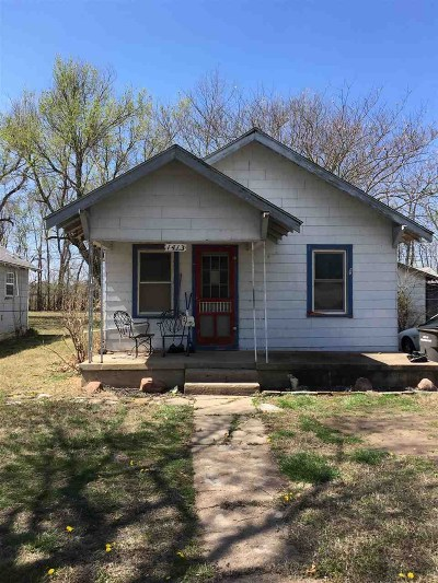 Arkansas City KS Single Family Home For Sale: $14,005