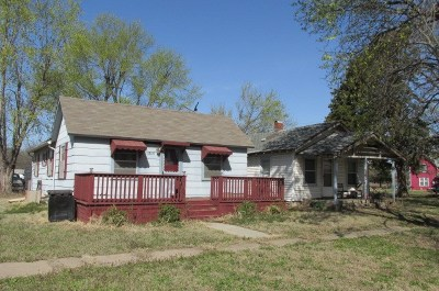 Arkansas City Single Family Home For Sale: 1205 And 1207 S L