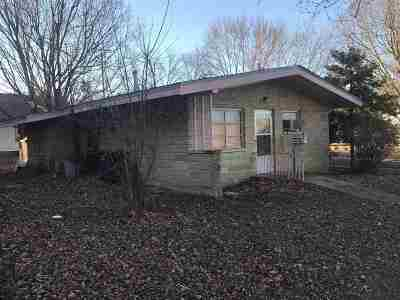 Arkansas City KS Single Family Home For Sale: $39,500