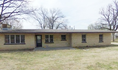 Udall KS Single Family Home For Sale: $64,500