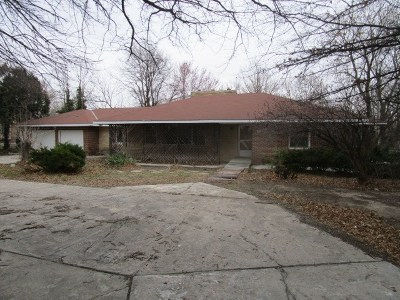 Bel Aire Single Family Home For Sale: 4024 N Oliver St