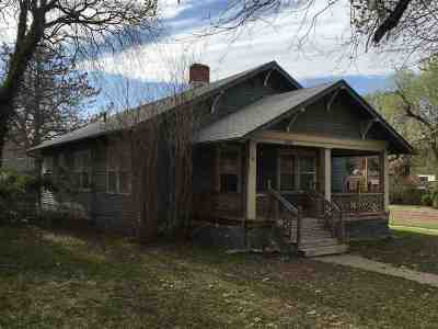 Arkansas City KS Single Family Home For Sale: $54,900