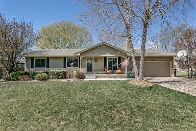 Derby Single Family Home For Sale: 1131 S Woodlawn Heights Ct