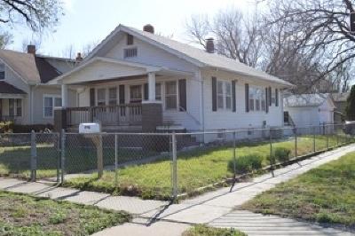 Wichita KS Single Family Home For Sale: $59,000