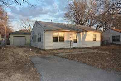 Wichita KS Single Family Home For Sale: $38,900