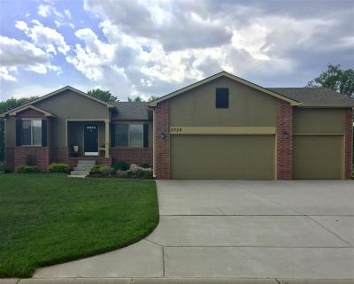 Wichita Single Family Home For Sale: 5029 N Saker Cir.