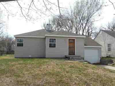 Wichita KS Single Family Home For Sale: $55,000