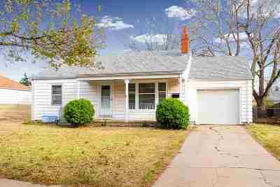 Wichita KS Single Family Home For Sale: $102,500
