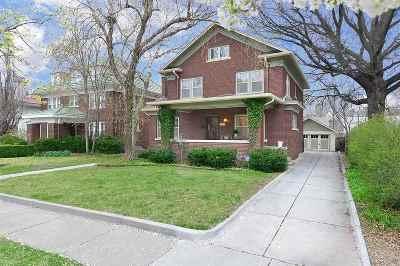 Wichita Single Family Home For Sale: 227 N Broadview St