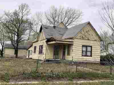 Arkansas City KS Single Family Home For Sale: $14,500