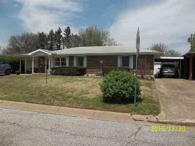 Arkansas City Single Family Home For Sale: 210 Random Road