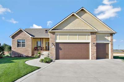 Maize Single Family Home For Sale: 4019 N Bluestem Ct