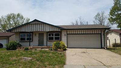 Wichita KS Single Family Home For Sale: $64,500