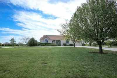 Wichita Single Family Home For Sale: 11900 E Calais Rd