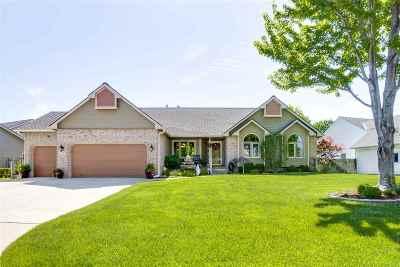 Wichita Single Family Home For Sale: 115 N Rainbow Lake Rd