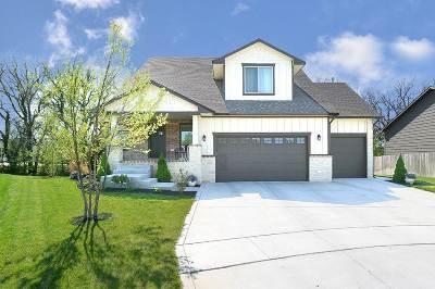 Wichita Single Family Home For Sale: 12722 W Hardtner Cir