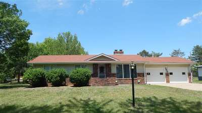 Winfield KS Single Family Home For Sale: $179,900
