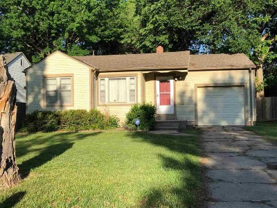Sedgwick County Single Family Home For Sale: 647 S Belmont St
