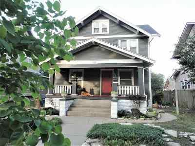 Wichita Single Family Home For Sale: 126 N Volutsia