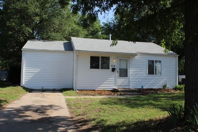 Wichita KS Single Family Home Sale Pending: $64,900
