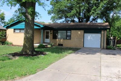 Mulvane KS Single Family Home For Sale: $119,900