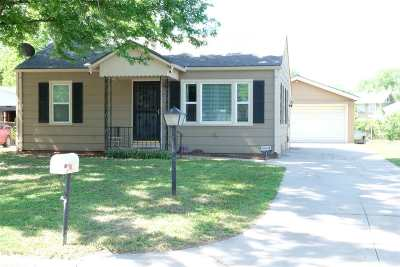 Wichita KS Single Family Home For Sale: $83,500