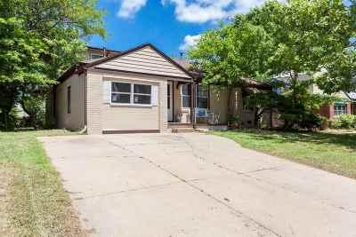 Wichita KS Single Family Home For Sale: $94,900