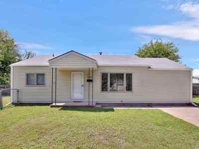 Wichita KS Single Family Home For Sale: $90,000