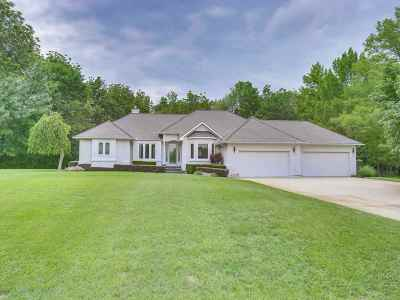 Derby Single Family Home For Sale: 6921 S Mark Twain Dr