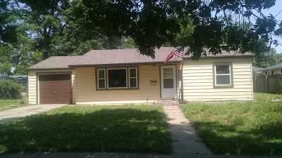 Halstead Single Family Home For Sale: 324 Sweezy St