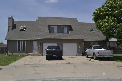 Wichita Multi Family Home For Sale: 2118 S White Oak Cir