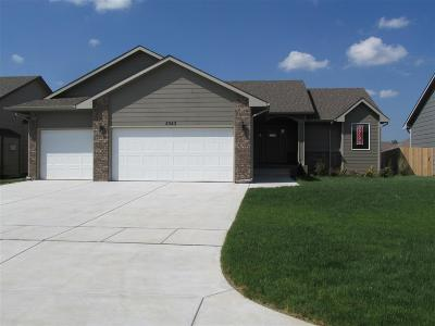 Bel Aire Single Family Home For Sale: 5343 N Rock Spring Ct.