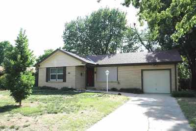 Derby Single Family Home For Sale: 719 N El Paso