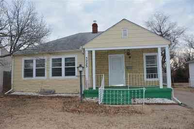 Wichita Single Family Home For Sale: 5223 E Murdock St