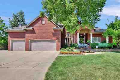 Wichita Single Family Home For Sale: 12117 W Ridgepoint Ct